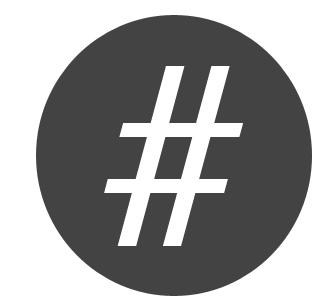 Vilken hashtag beskriver din produkt?